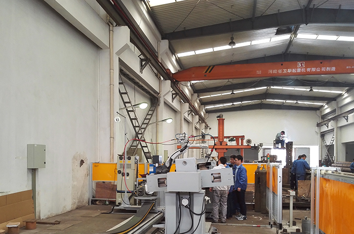 进口焊接机器人展示